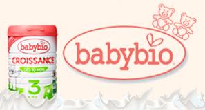 Babybio lait bio de croissance 900g